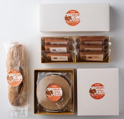 食用コオロギパウダーを使用したパン・菓子開発の取り組み