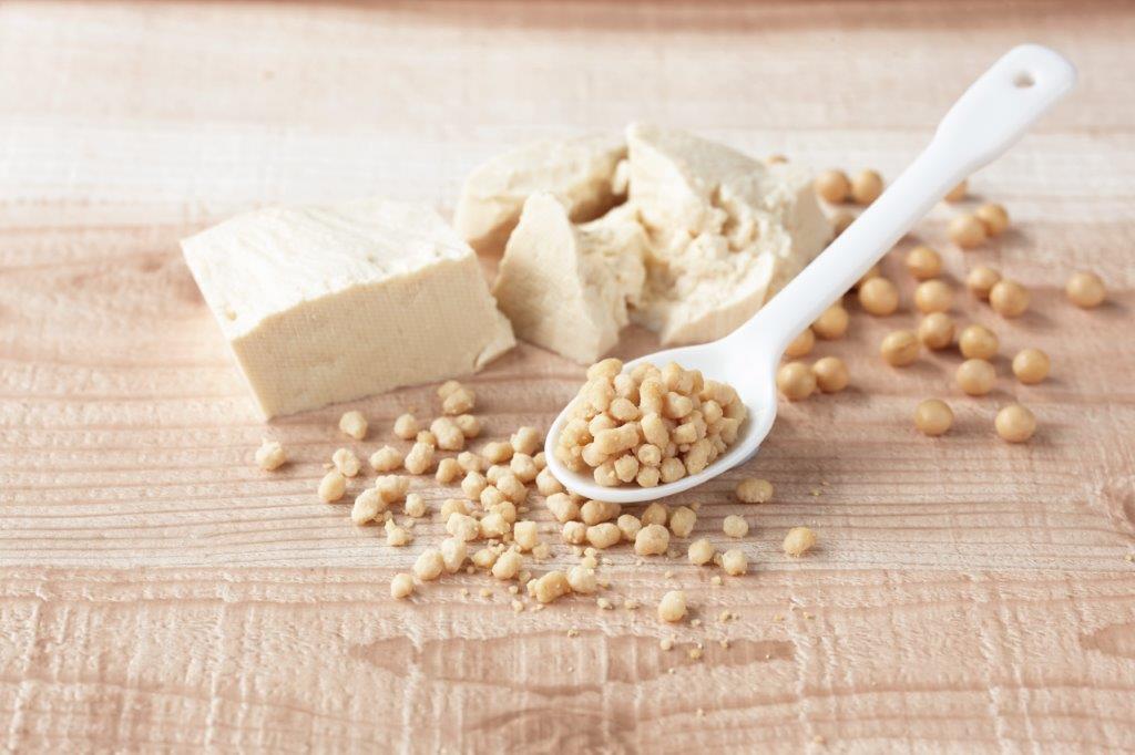 日本古来の豆腐加工技術をフードテックに 新素材「ソイルプロ」